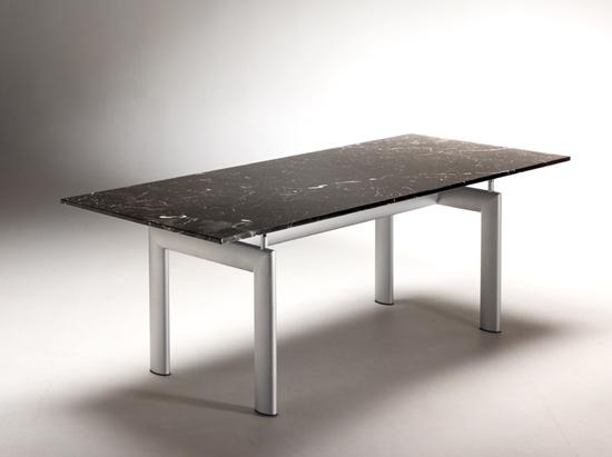 Tavolo lc10 le corbusier table tube d 39 avion in marmo - Tavolo cristallo le corbusier ...