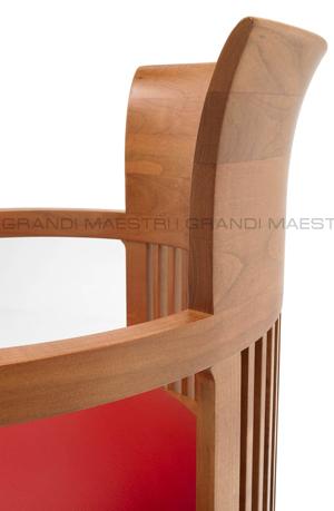 Sedia barrel chair frank lloyd wright - I grandi maestri del design ...