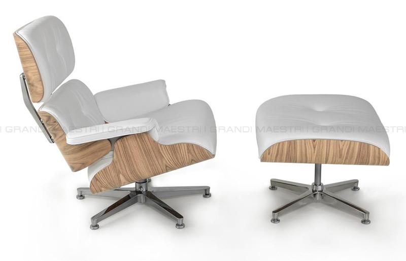 Lounge chair et ottoman chaise - I grandi maestri del design ...