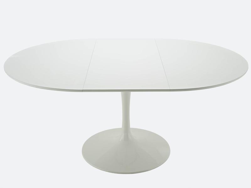Tavoli tulip allungabile saarinen eero - Progetto tavolo allungabile ...