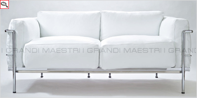 Divano Le Corbusier LC2 Grand Confort