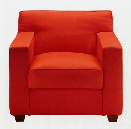 Fauteuil jean michel frank - I grandi maestri del design ...