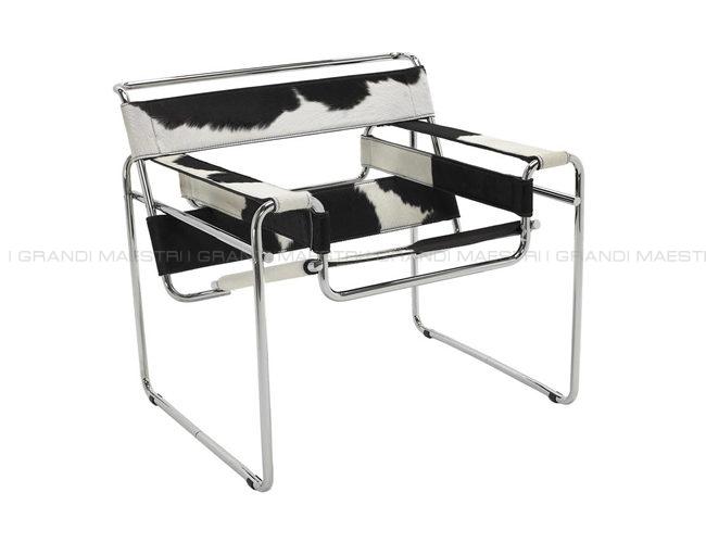 Poltrona wassily sedia chair breuer - I grandi maestri del design ...