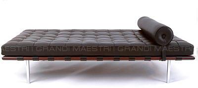 Letto barcelona daybed mies van der rohe - I grandi maestri del design ...