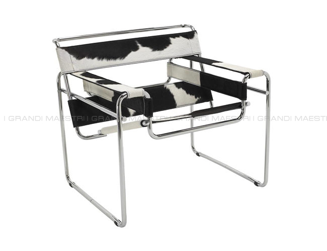 Fauteuil wassily siege marcel breuer chaise - I grandi maestri del design ...
