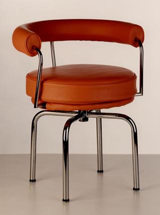 Sedia le corbusier poltrona lc7 girevole - Le corbusier sedia ...