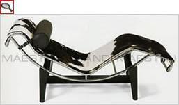 Lc4 le corbusier chaise longue le corbusi - I grandi maestri del design ...