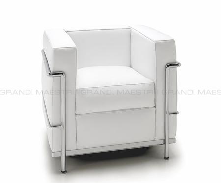 Lc2 le corbusier grand confort poltrona - I grandi maestri del design ...