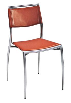 Sedie in cuoio e metallo for Sedie in cuoio
